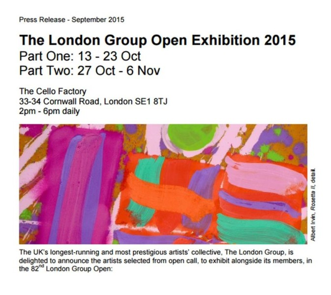 London group flyer