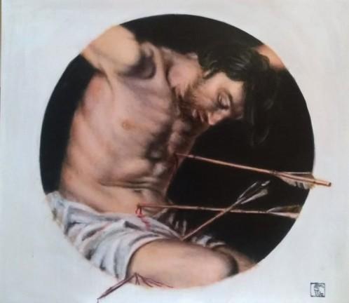 Saint Sebastian after Gerrit van Honthorst