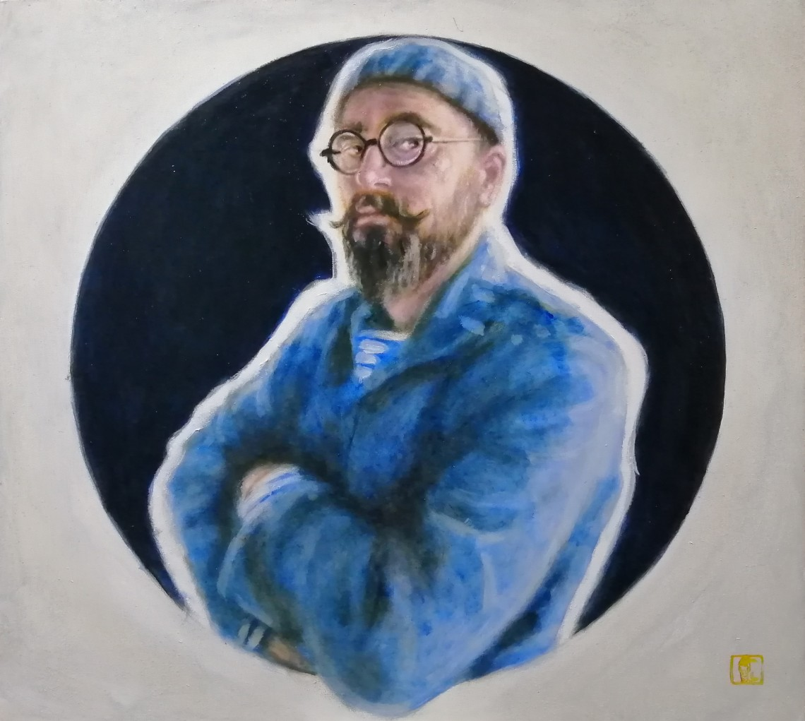 Self portrait with French ultramarine.jpg