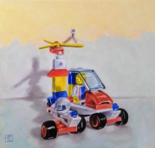 Lego number 6 - Copy